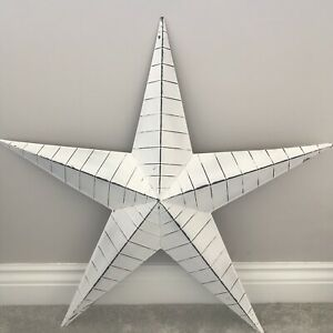 Metal Lucky Barn Star Wall Decor