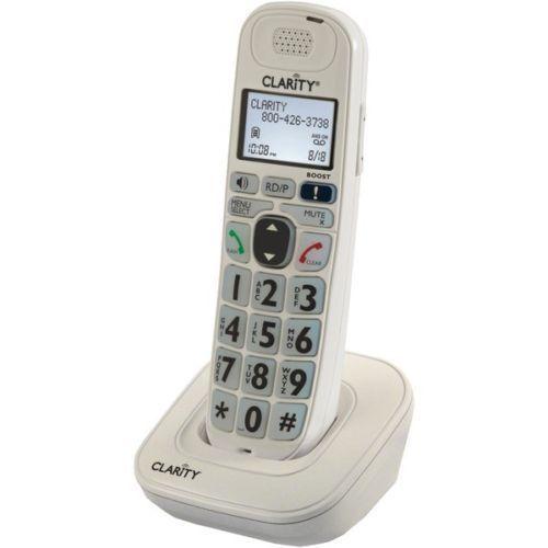CLARITY D702HS Expandable Handset for D702 D712 /& D722 Cordless Phones™