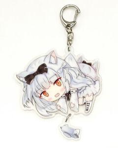 Azur Lane AL Nagato Cute Double-sided Acrylic Keychain Charm Strap