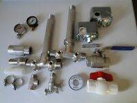 Build Your Water Pressure Tank Tee Install Kit 1 X 11 Union Stainless Steel