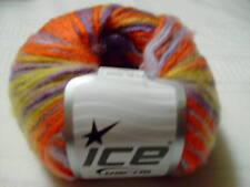 Wool/Acrylic Blend Multicolor Ice Yarn