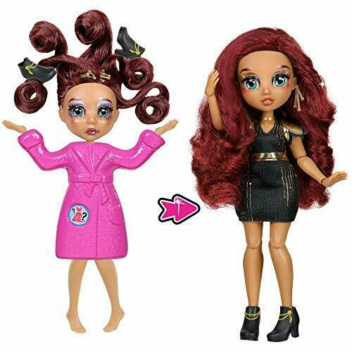 """Loves.Glam Total Makeover Doll Pack8.5/"""" Fashion DollTotal Head-to-Toe T"""