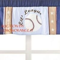 Nip Kids Line Kidsline American Sports Little Lil League Valance Baseball