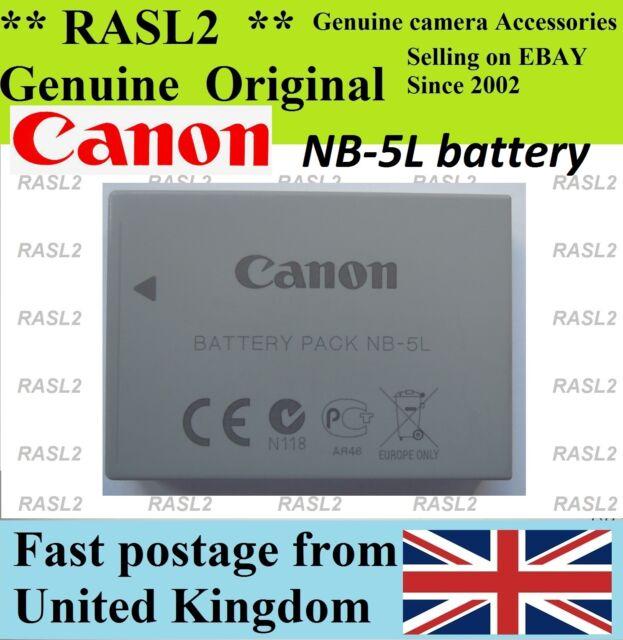 Genuine CANON NB-5L Battery,IXUS 800 850 860 870 900Ti 90 950 is SD 900 990 970