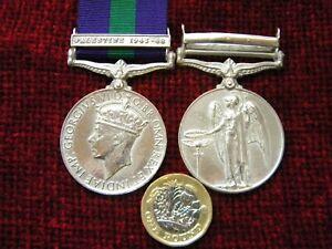 Replica Copy Full Size GVI Territorial Efficiency Medal