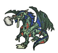 Zombie Dragon Iron on Embroidered Patch On Hat Jacket
