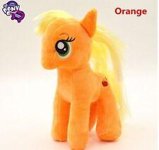"Brand New 18CM 7"" My Little Pony Orange Plush Doll Toy Teddy Unicorn Horse GIFT"