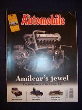 The Automobile - January 2015 - Amilcar - MG TD - Austin 7 - Marshall Arter