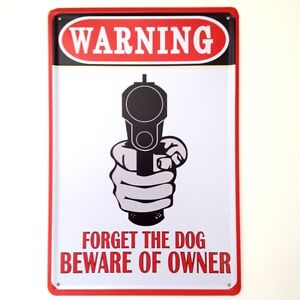 Retro Metal Wall Sign Tin Plaque Vintage Funny Bedroom Garage Shed Keep Out Ebay