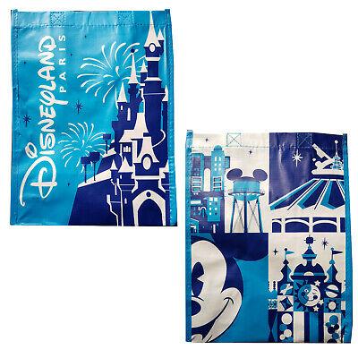 + Map of the 2 parks Reusable Tote Bag Disneyland Paris medium