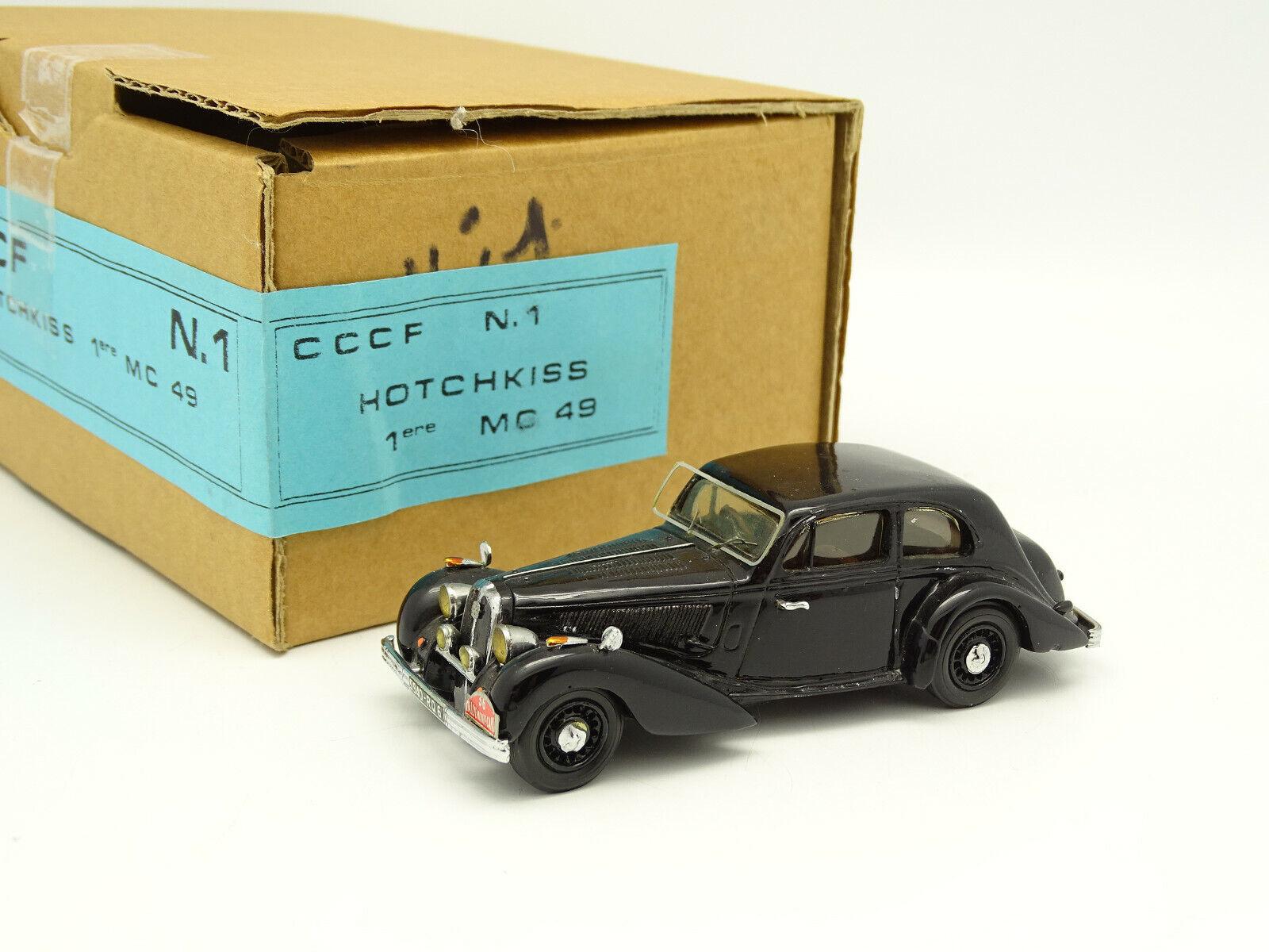CCCF Résine 1 43 - Hotchkiss 686 Winner Rallye Monte Carlo 1949