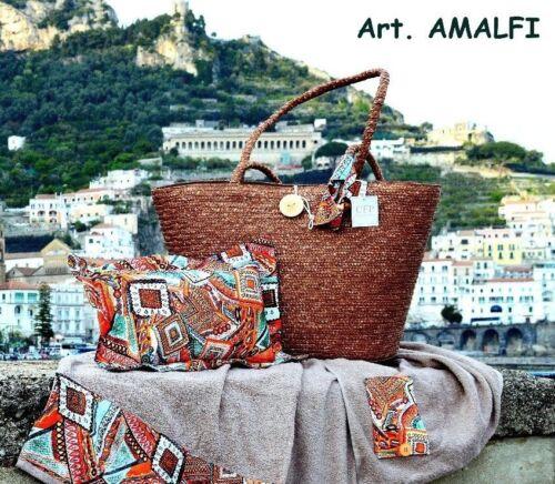 Amalfi Borsa Mare Paglia vari colori Cieffepi Home Collections
