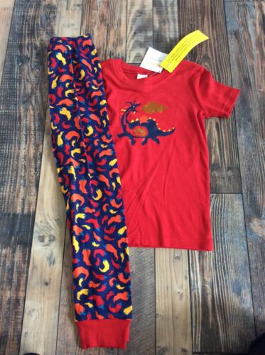 Gymboree Boys Dragon Fire Chili Pepper Hot Pjs Nwt Size 3