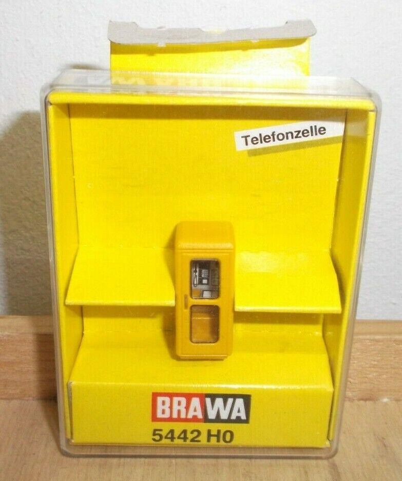 runde Ausführung SH  Brawa 5442 Telefonzelle IV