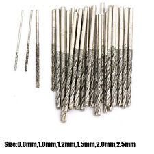 08 25mm Diamond Tipped Twist Drill Bit For Glass Stone Porcelain Tile Jewelry