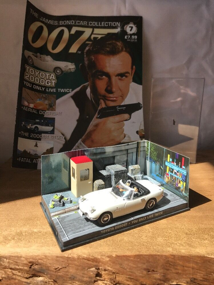 007 007 007 James Bond Car Collection No 7 Toyota 2000GT You Only Live Twice 478773