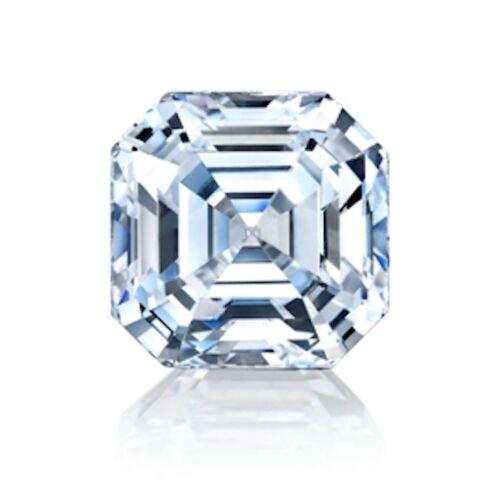 5x5mm - 20x20mm Laboratorio ruso si Asscher Simulado Diamante 6 AAAAAA piedras sueltas