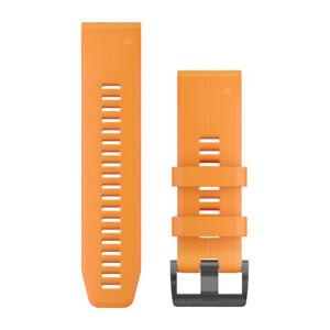 Cinturino-QuickFit-26-Arancione-per-GARMIN-fenix-5x-e-fenix-5x-art-010-12741-02