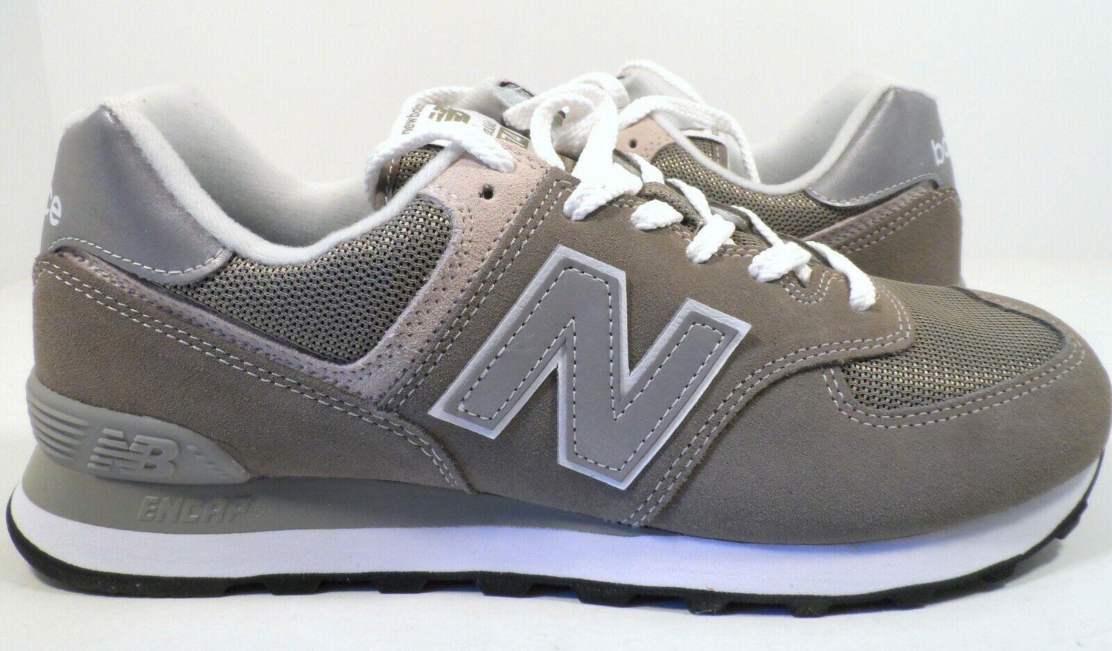 New Balance Men's 574 Core Sneaker Tan Brown Grey Size 9.5