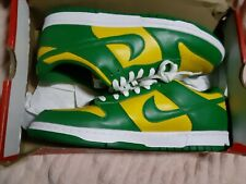 Size 10.5 - Nike Dunk Low Green/Pine/Varsity Maize/White 2020