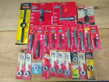 Lot Of 24 Brand New Taps Dies Wrenches Vermont American Hanson Arco