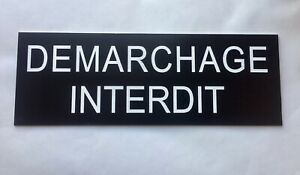 plaque-panneau-034-DEMARCHAGE-INTERDIT-034-signaletique