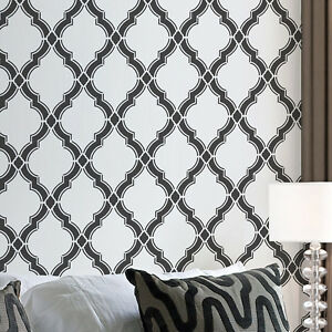 Details About Agora Allover Stencil Large Reusable Wall Stencil Designs For Diy Home Decor