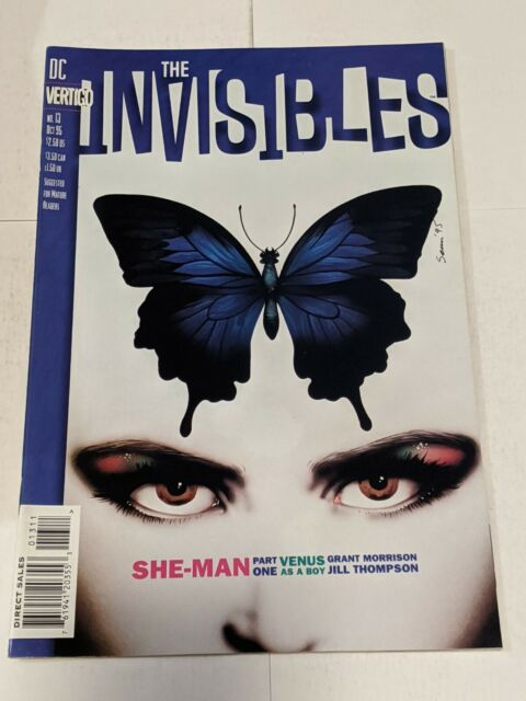 The Invisibles #13 October 1995 DC Comics Morrison Thompson