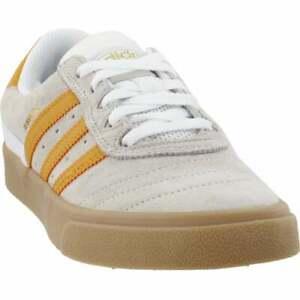 adidas-Busenitz-Vulcanized-Sneakers-Casual-Skate-White-Mens