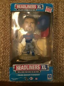 1999 ROGER CLEMENS LIMITED EDITION 15,000 HEADLINERS XL TORONTO BLUE JAYS