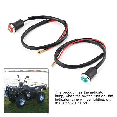 Reverse and Neutral Gear Shifter Indicator Light Set for 50cc-200cc ATV/& Go Kart