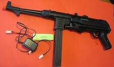 Geman MP40 Metal Gearbox and Metal Receiver Auto Electric Airsoft Gun 350 FPS