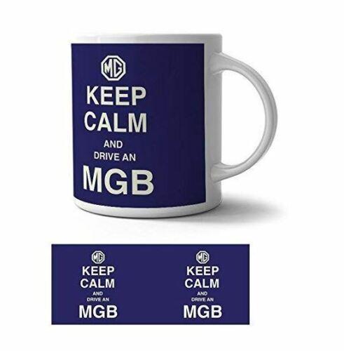 og KEEP CALM AND DRIVE une MGB Mug Céramique