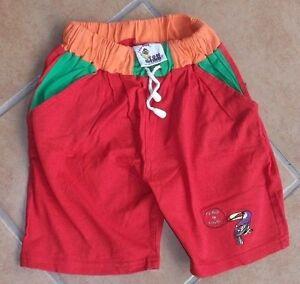 Tom-Tino-Shorts-Schlupfhose-Jungen-Gr-104-rot