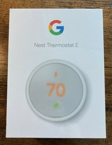 google thermostat E, white color, brand new (with the seal on)