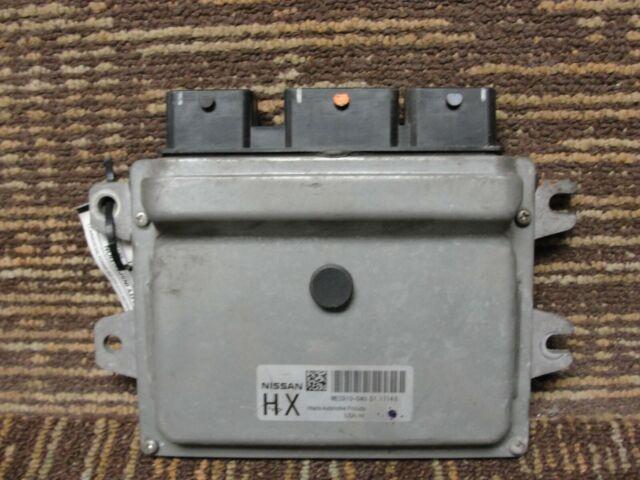 2012 Nissan Versa ecm ecu computer MEC910-040