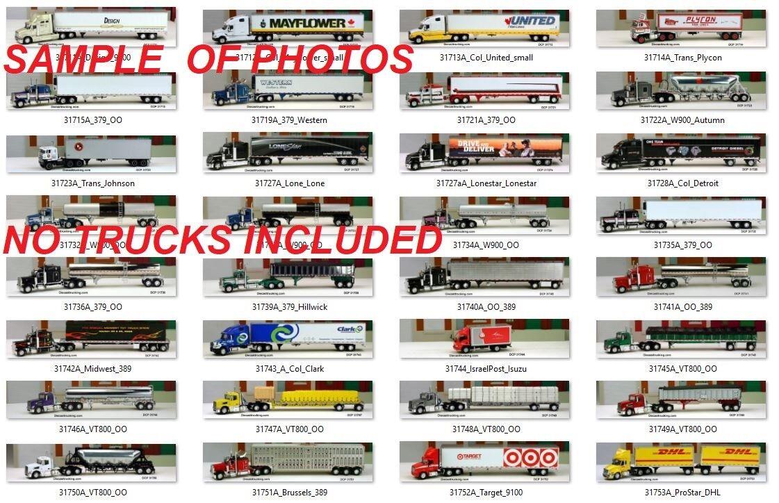 CD Photo disque avec 2,150 & liste détaillée de 1 64 DCP Diecast Promotions du chariot