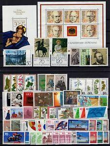 P135771/ WEST GERMANY – YEARS 1978 - 1984 MINT MNH MODERN LOT – CV 125 $