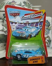 Disney Pixar Cars Race O Rama Damaged King Rare