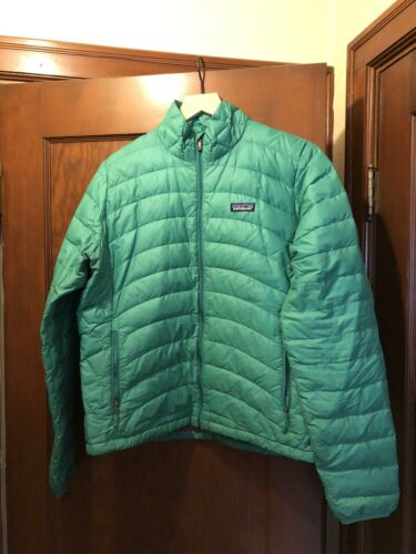 Patagonia Green Down Sweater Jacket