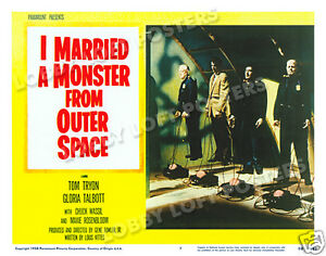 I-MARRIED-A-MONSTER-FROM-OUTER-SPACE-LOBBY-SCENE-CARD-7-POSTER-1958