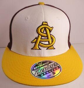 0e5c8555f Arizona State Hat Cap Fitted Small University ASU Sun Devils ...