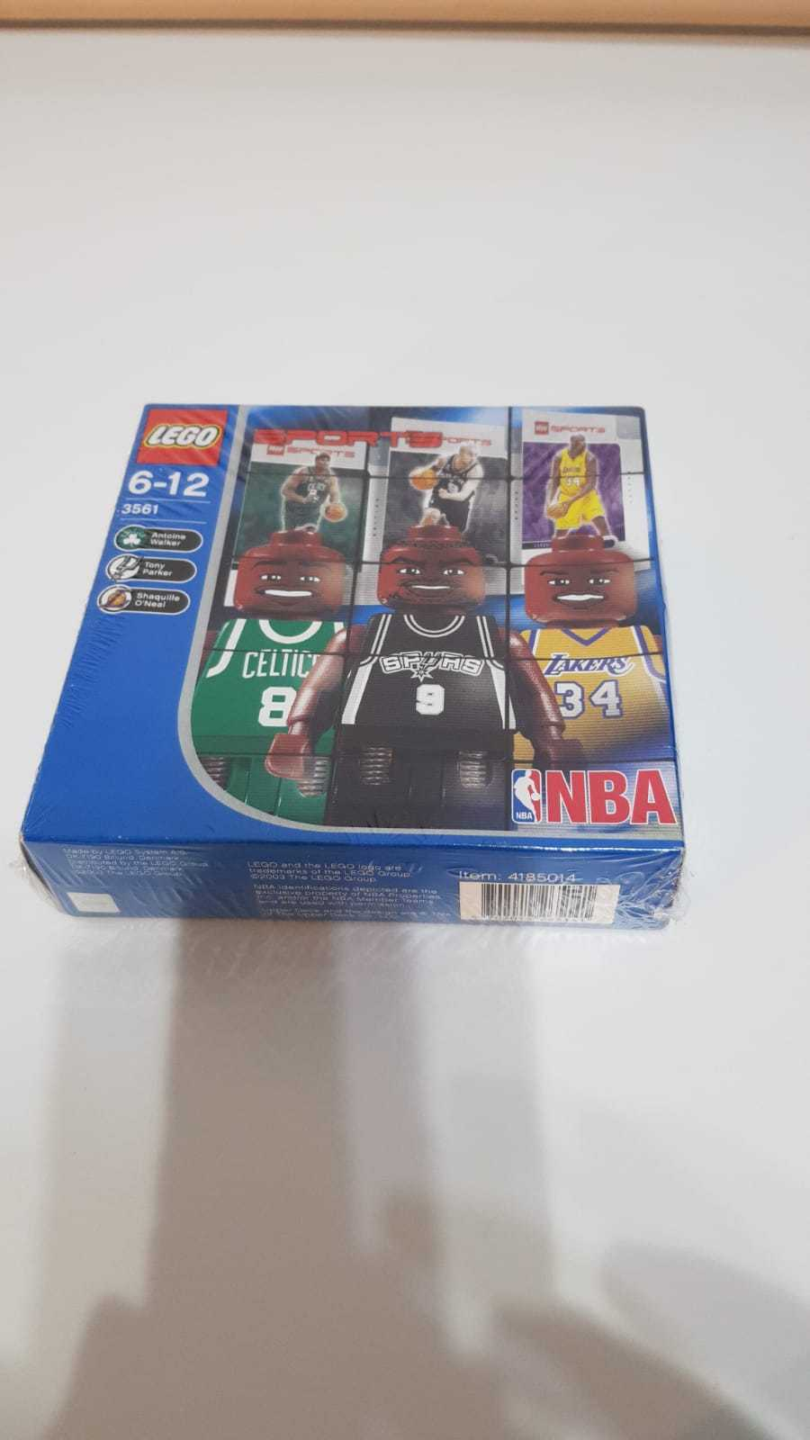 LEGO 3561 NBA PLAYER SHAQUILLE O' NEAL TONY PARKER WALKER RETIrot