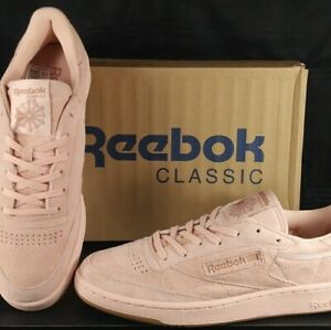 6d037a54d05a4 Details about NEW! Reebok Classic Club C 85 TG Low Sneakers ROSE/GUM BS8206  Men's SIZE 10.5