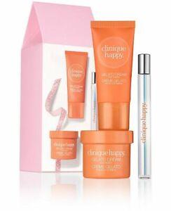 Brand New In Box Cute Clinique 3 Pc Skin Care Happy Treats Set Ebay