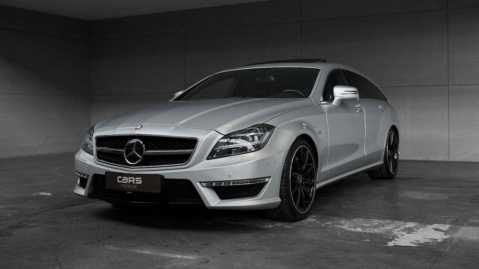 Mercedes CLS63 5,5 AMG SB aut. 5d - 4.550 kr.