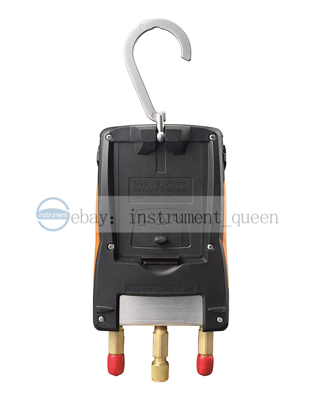 New TESTO 549 Digital Manifold Gauge 2 Valves System for HVA 0560 0550