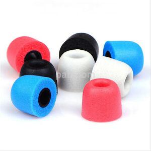 4mm-Aislamiento-De-Ruido-Auriculares-Auriculares-puntas-para-oreja-de-espuma-de-memoria-T200-de