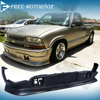 98-04 Chevy S10 Gmc Extreme Style Pu Urethane Front Bumper Lip Spoiler Body Kit