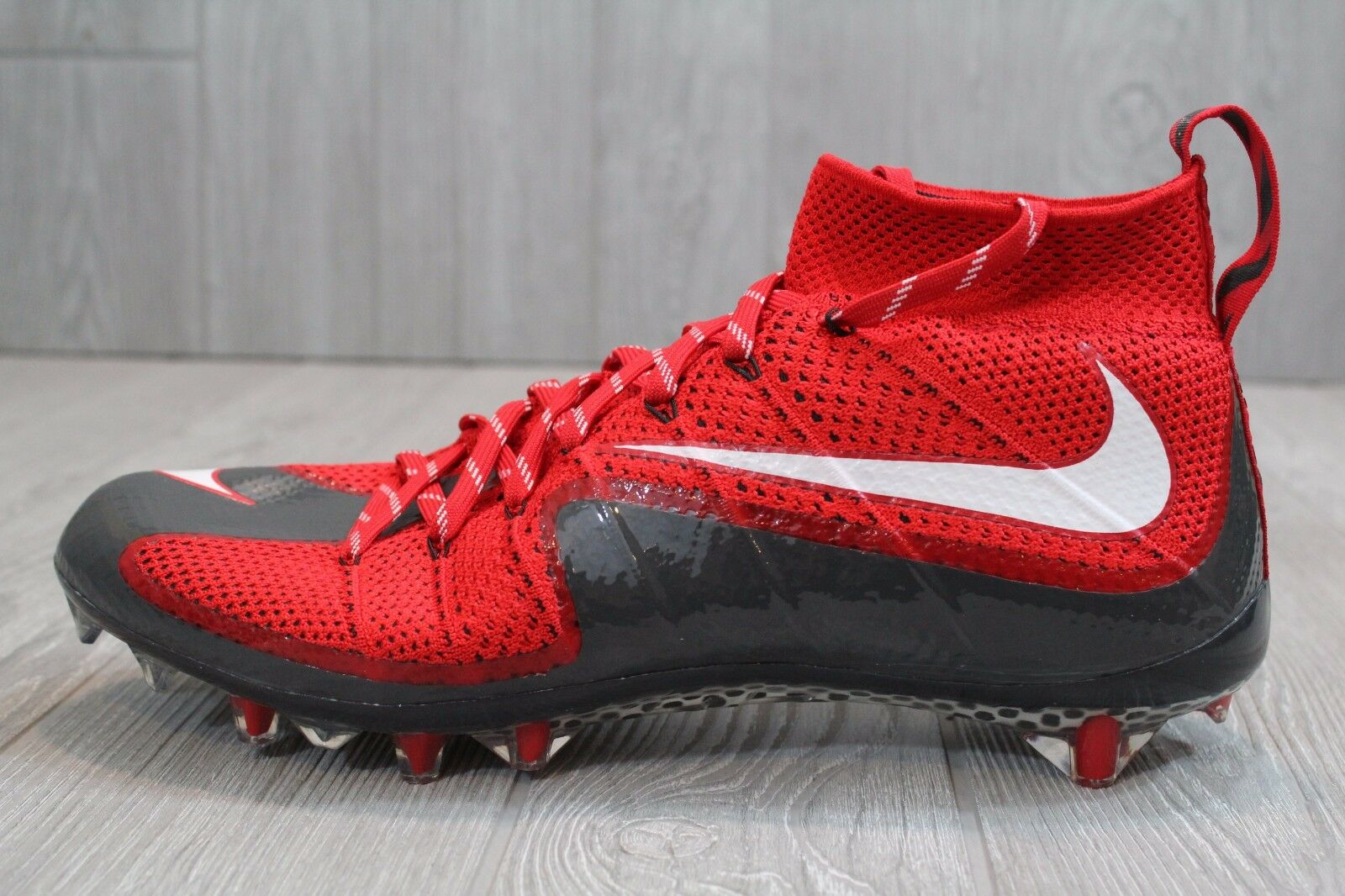 22 Nuove Flyknit Nike Vapore Intoccabile Pro Flyknit Nuove Football  tte Rosso 707455-630 10 12 c495c0
